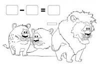 Тигр пример в раскрасках
